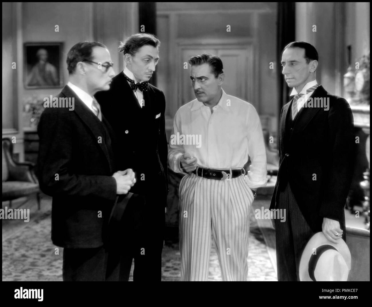 Prod DB © Metro-Goldwyn-Mayer / DR ARSENE LUPIN (ARSENE LUPIN) de Jack Conway 1932 USA avec Mischa Auer et John Barrymore d'apres la piece de Francis de Croisset d'apres le personnage de Maurice Leblanc code MGM: 596 Stock Photo