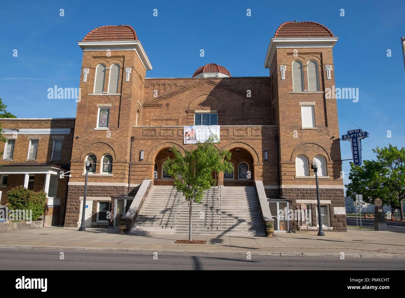 16th Street Baptist Church , Birmingham, Alabama, USA, North America Stock Photo
