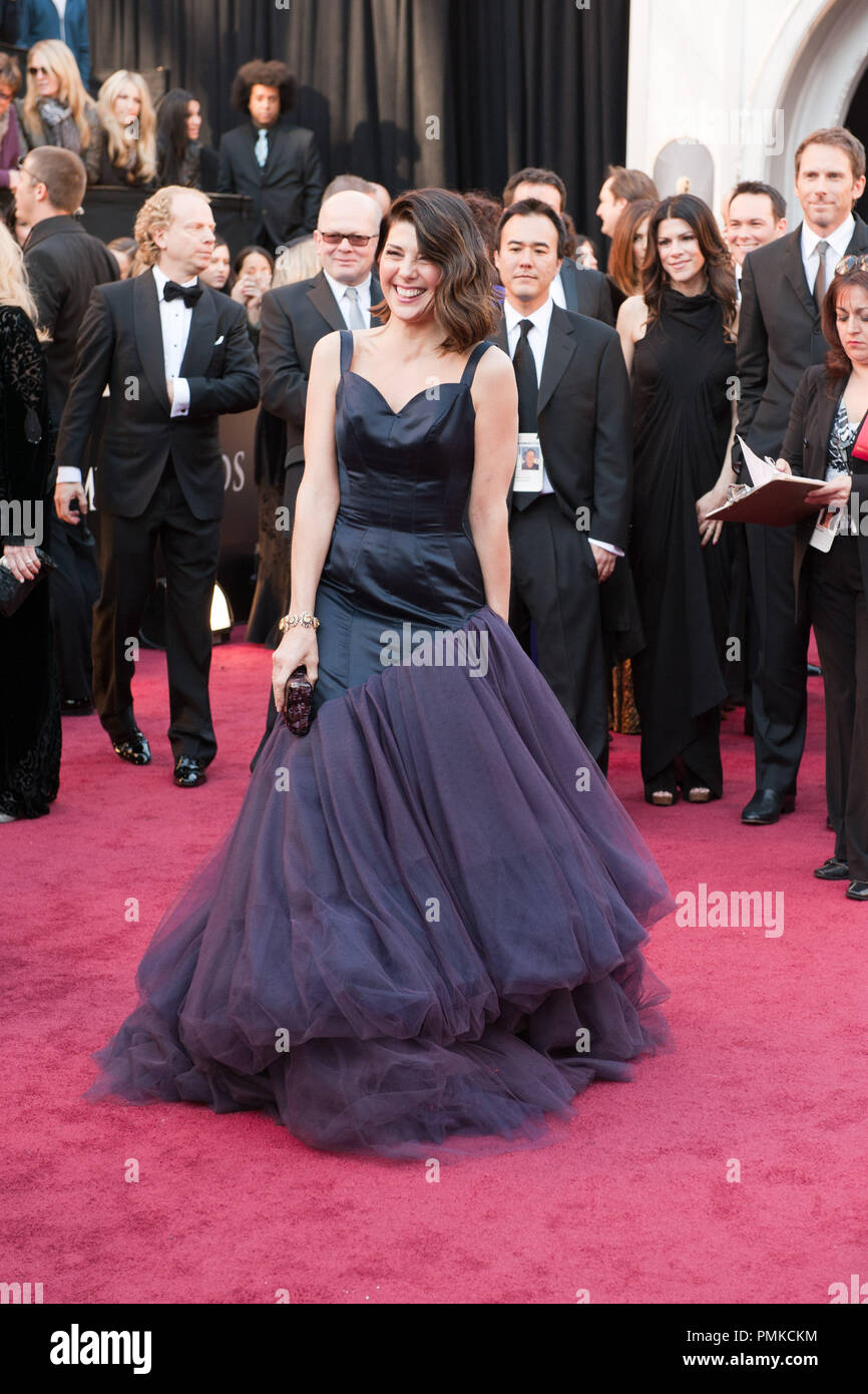 Marisa Tomei arrives for the 83rd Annual Academy Awards at the Kodak Theatre in Hollywood, CA February 27, 2011.  File Reference # 30871_271  For Editorial Use Only -  All Rights Reserved - Stock Image