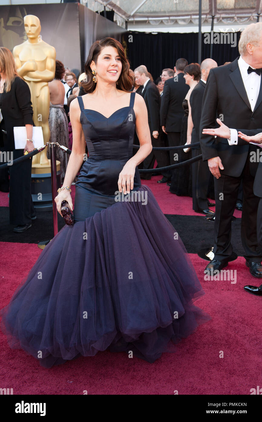 Marisa Tomei arrives for the 83rd Annual Academy Awards at the Kodak Theatre in Hollywood, CA February 27, 2011.  File Reference # 30871_272  For Editorial Use Only -  All Rights Reserved - Stock Image