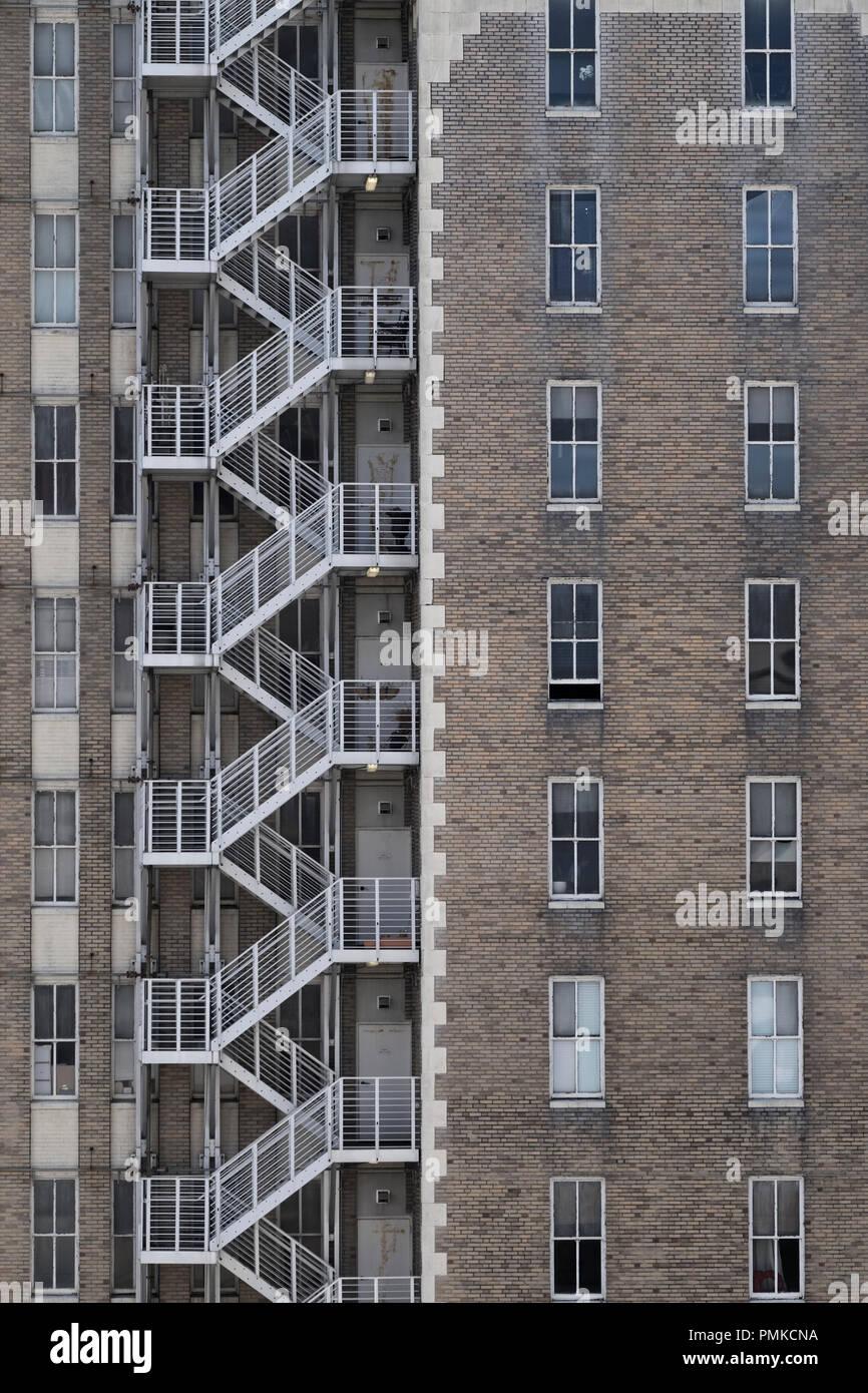 Architecture detail  Birmingham alabama - Stock Image