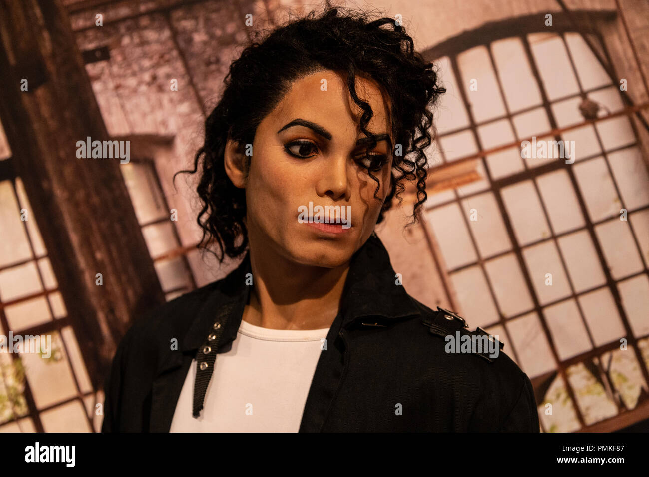 ef8fe308e1d7be Wax figure of Michael Jackson in Madame Tussauds Wax museum in Amsterdam,  Netherlands