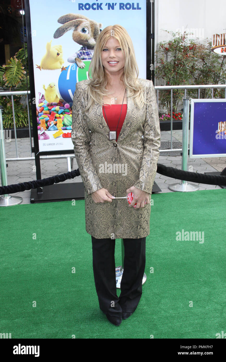 """Donna D'Errico at the premiere of Universal Pictures' """"HOP."""" Arrivals held at Universal Studios Hollywood in Universal City, CA, March 27, 2011. Photo by: Richard Chavez / PictureLux Stock Photo"""