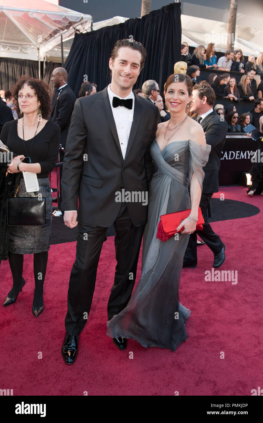 Todd Lieberman, Oscar-nominee for Best Motion Picture of the Year, and Heather Lieberman arrive for the 83rd Annual Academy Awards at the Kodak Theatre in Hollywood, CA February 27, 2011.  File Reference # 30871_320  For Editorial Use Only -  All Rights Reserved - Stock Image