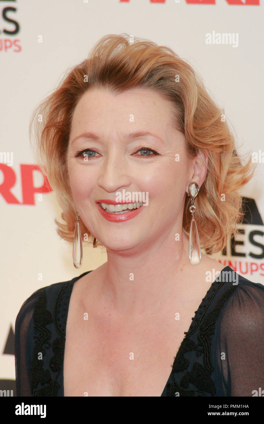Lesley Manville at the 10th Annual Movies for Grownups Awards. Arrivals held at the Beverly Wilshire Hotel in Beverly Hills, CA, February 7, 2011. Photo by Joe Martinez / PictureLux - Stock Image