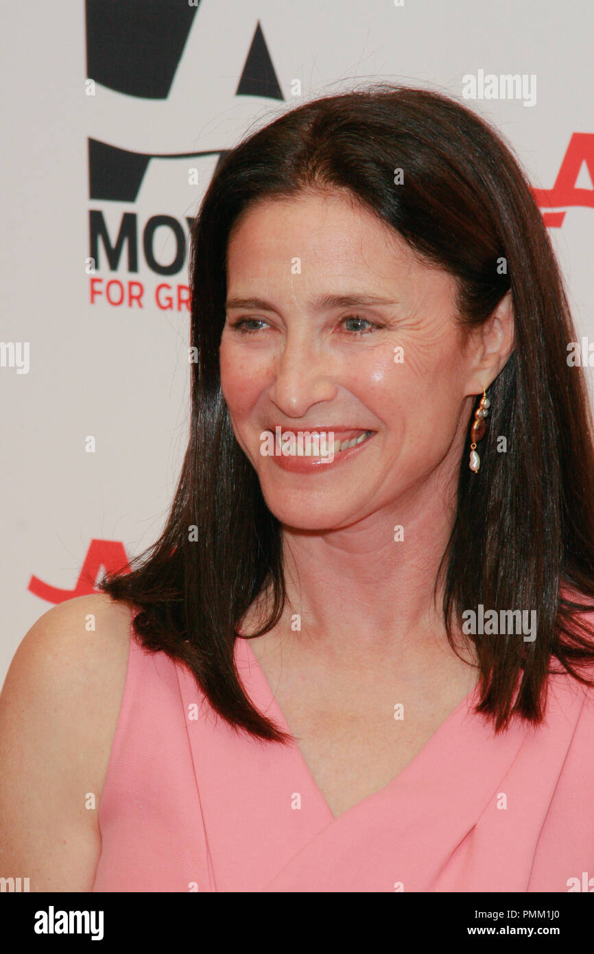 Mimi Rogers at the 10th Annual Movies for Grownups Awards. Arrivals held at the Beverly Wilshire Hotel in Beverly Hills, CA, February 7, 2011. Photo by Joe Martinez / PictureLux - Stock Image