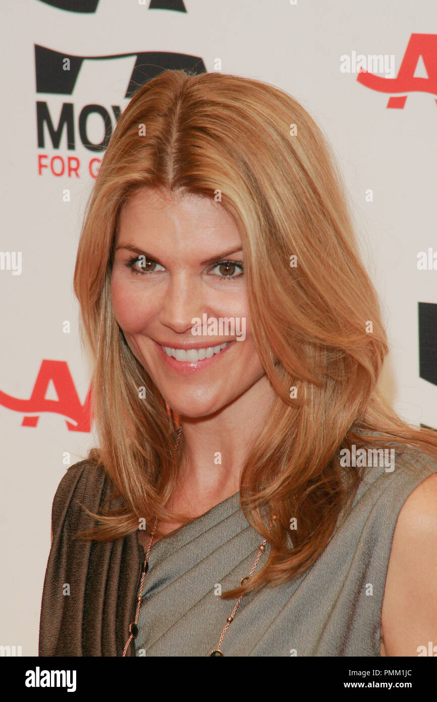 Lori Loughlin at the 10th Annual Movies for Grownups Awards. Arrivals held at the Beverly Wilshire Hotel in Beverly Hills, CA, February 7, 2011. Photo by Joe Martinez / PictureLux - Stock Image