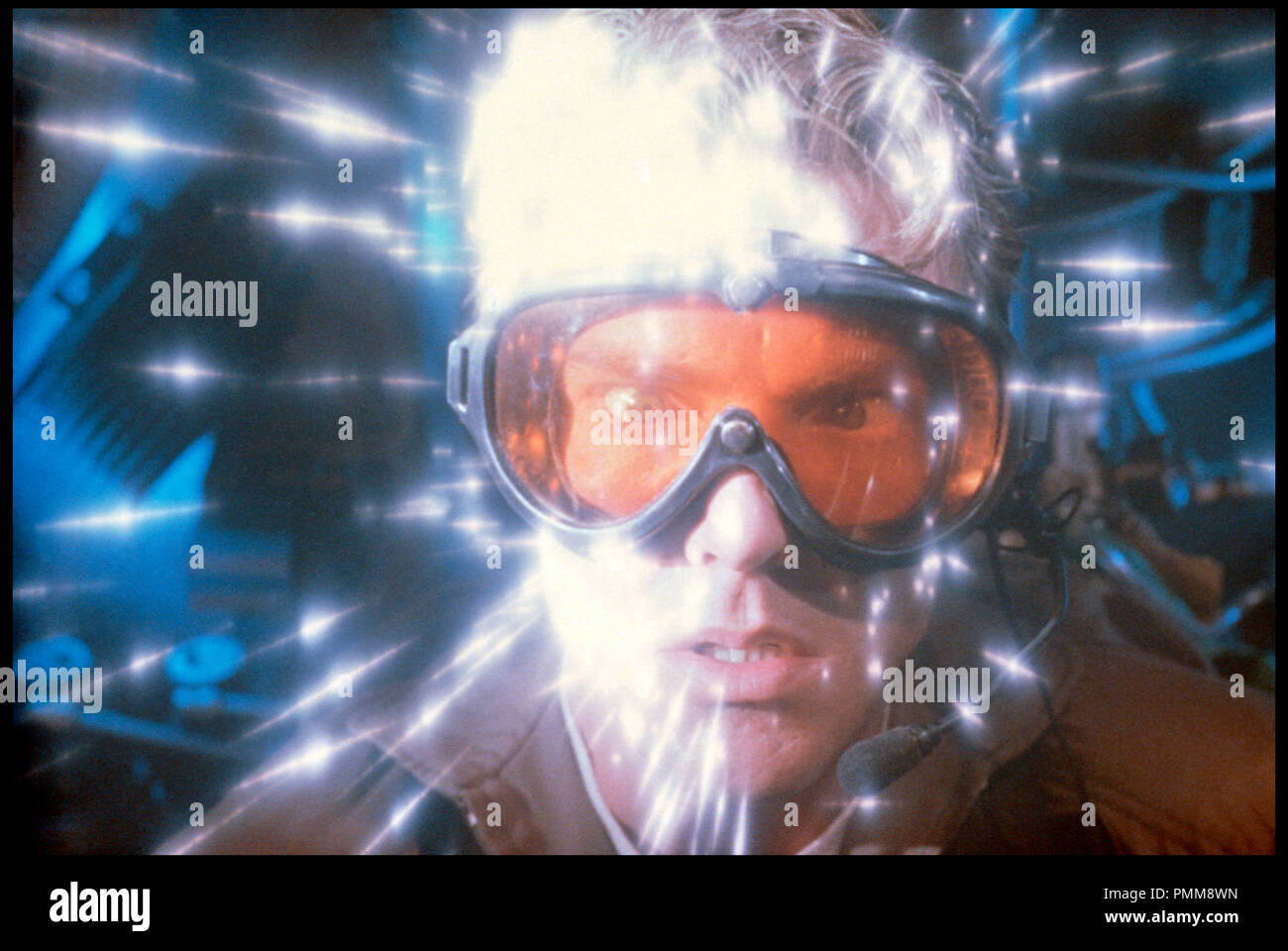 Prod DB © Amblin-Warner/ DR L'AVENTURE INTERIEURE (INNERSPACE) de Joe Dante 1987 USA avec Dennis Quaid science-fiction, irradiation, rayon, miniaturisation - Stock Image