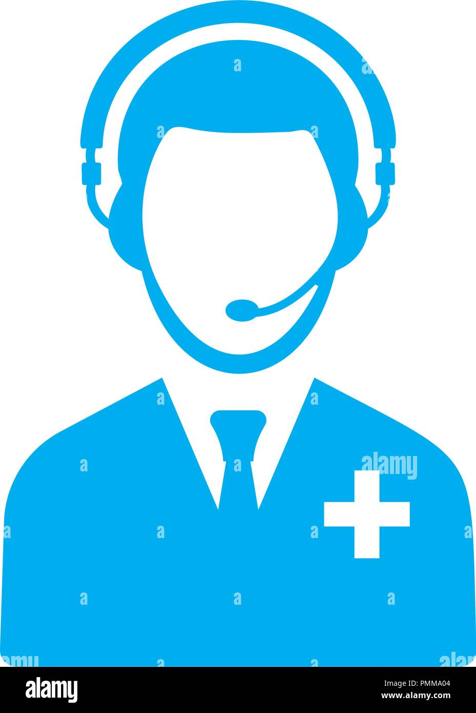 call center icon high resolution stock photography and images alamy https www alamy com medical call center icon blue image219264420 html