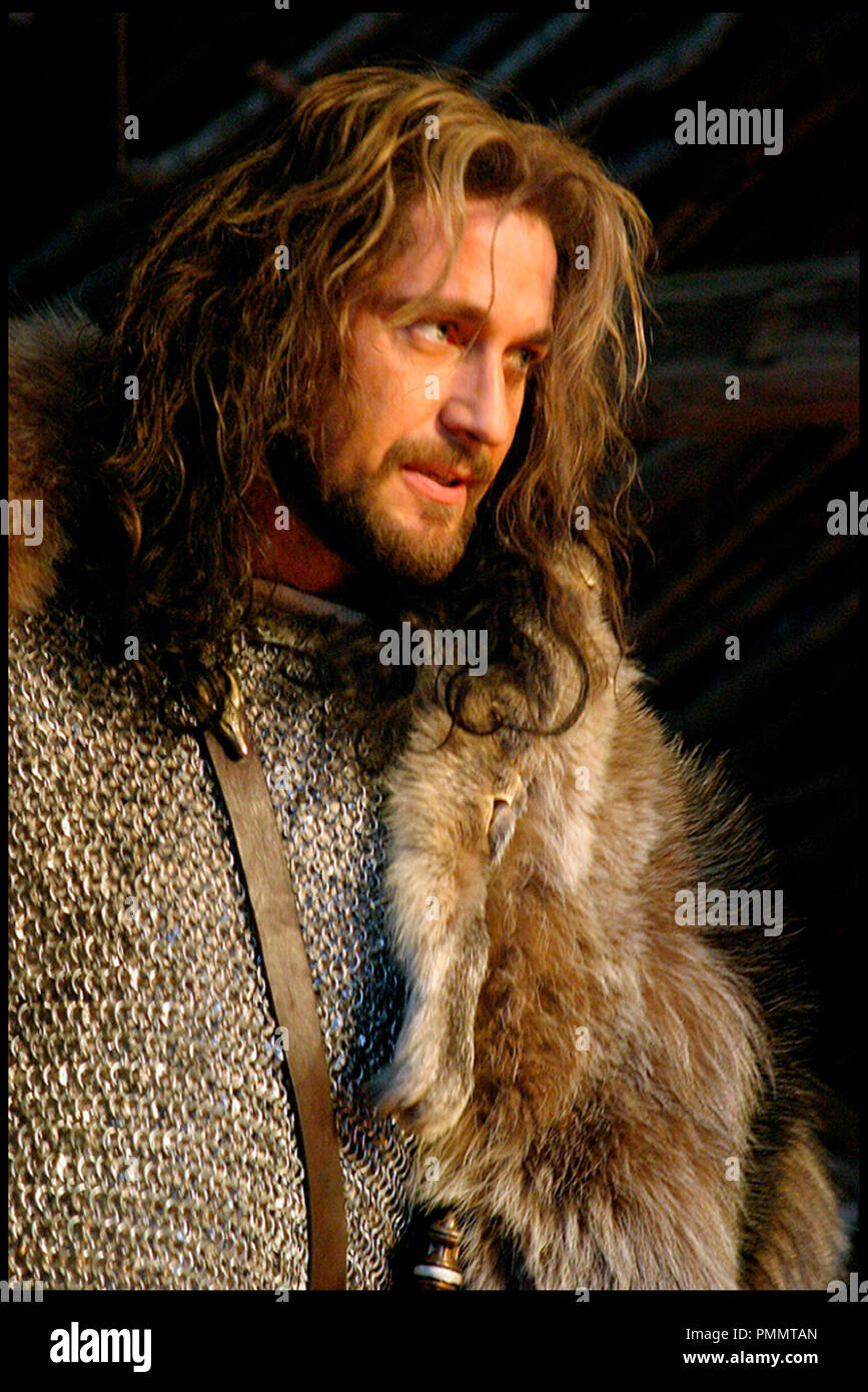 Prod DB © Icelandic Film - Spice Factory - Arclight Films / DR BEOWULF & GRENDEL (BEOWULF AND GRENDEL) de Sturla Gunnarsson 2005 ICE./CAN./GB. avec Gerard Butler mythologie, VIeme siècle, 6eme siecle, moyen age, barbare, fourrure, cotte de mailles - Stock Image