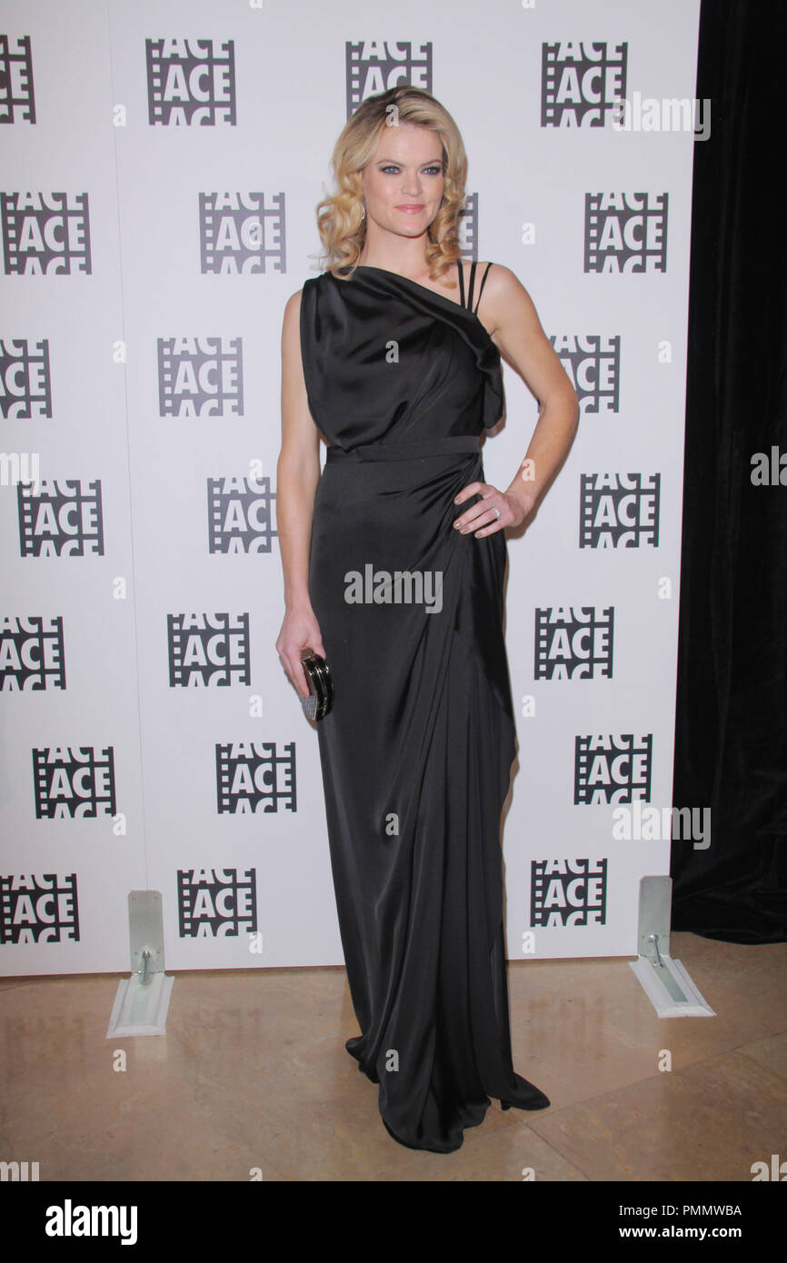 Missi Pyle 02/18/2012 62nd Annual ACE Eddie Awards held at Beverly Hilton Hotel in Beverly Hills, CA Photo by  Izumi Hasegawa / HollywoodNewsWire.net/ PictureLux - Stock Image