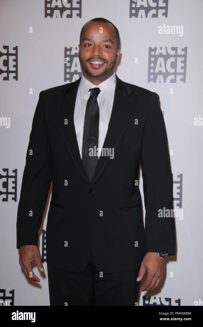 Donald Faison 02/18/2012 62nd Annual ACE Eddie Awards held at Beverly Hilton Hotel in Beverly Hills, CA Photo by  Izumi Hasegawa / HollywoodNewsWire.net/ PictureLux - Stock Image