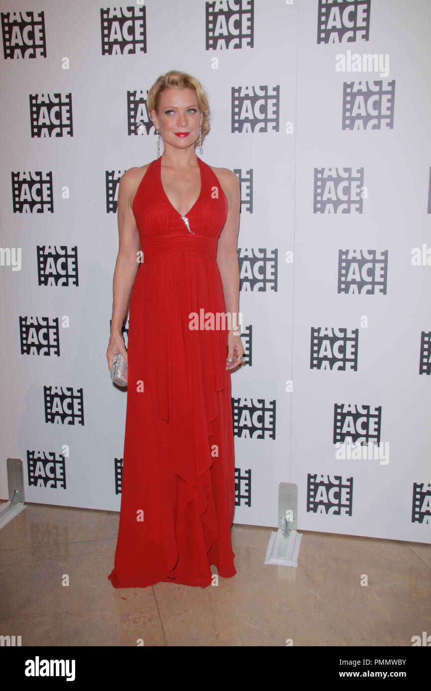 Laurie Holden 02/18/2012 62nd Annual ACE Eddie Awards held at Beverly Hilton Hotel in Beverly Hills, CA Photo by  Izumi Hasegawa / HollywoodNewsWire.net/ PictureLux - Stock Image