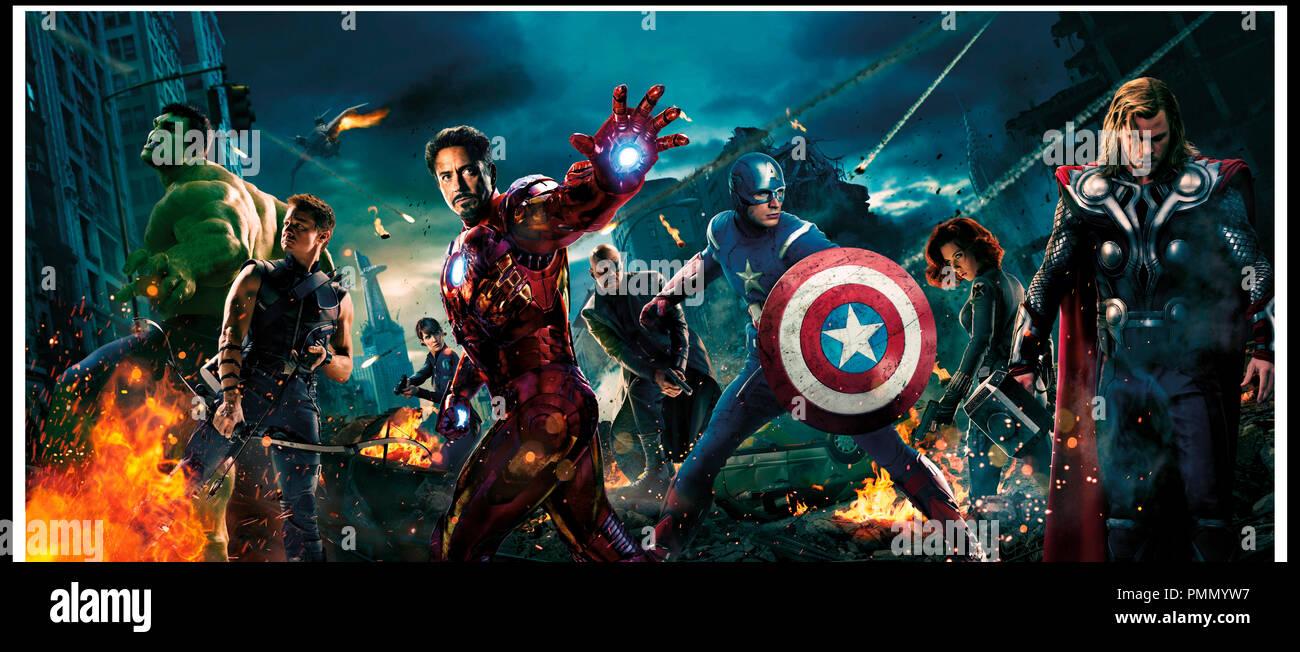 Adult Marvel Avengers Iron Man Captain America Thor Hulk Blk Widow Loki Costume