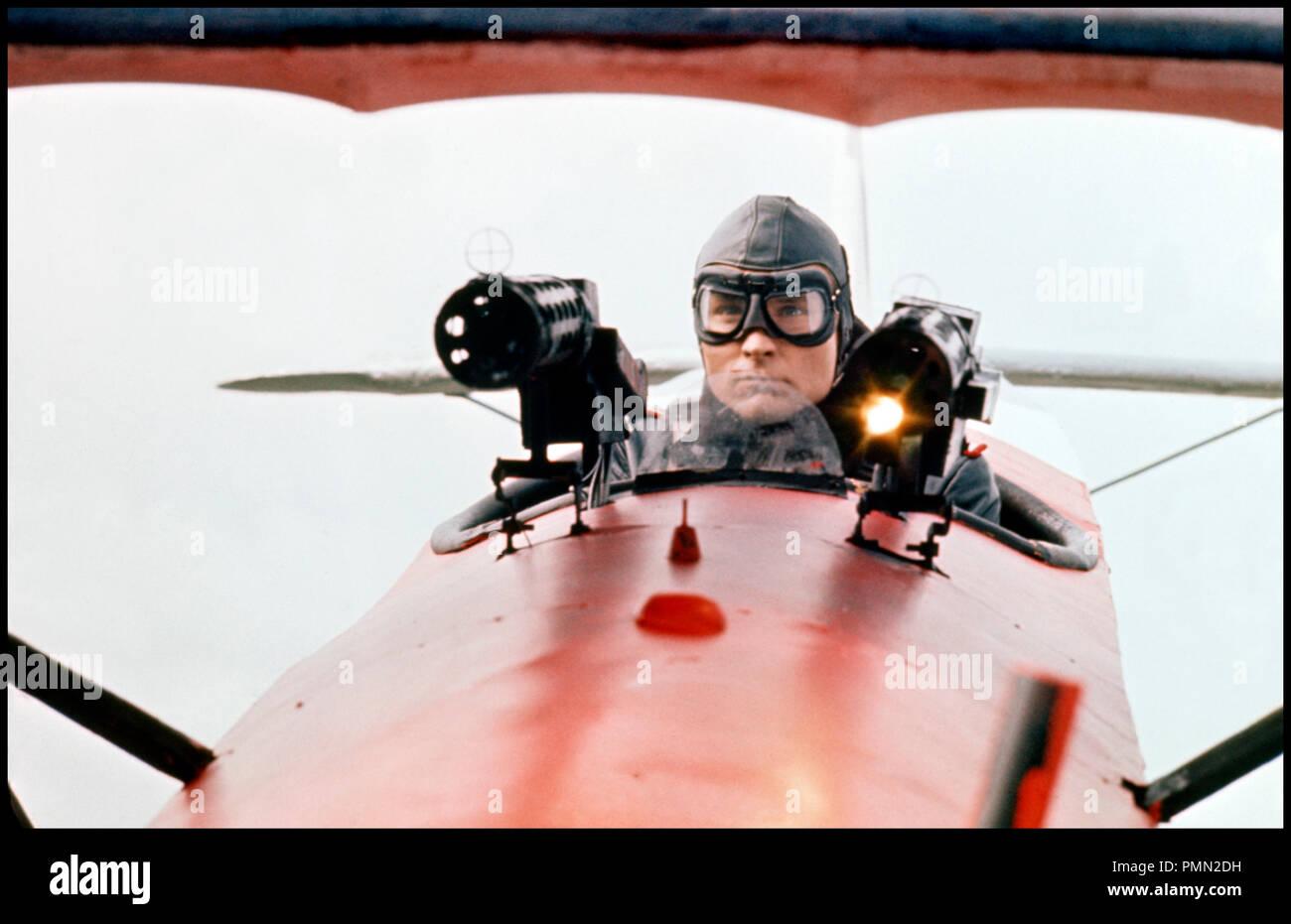 Prod DB © The Corman Company / DR LE BARON ROUGE (VON RICHTHOFEN AND BROWN / THE RED BARON) de Roger Corman 1971 USA John Phillip Law biographie, aviation WW I, guerre, uniforme, aviateur, mitrailleuse, combat aerien - Stock Image