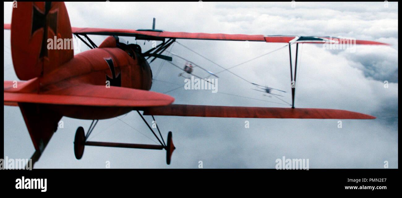 Prod DB ©Niama Film / DR LE BARON ROUGE (DER ROTE BARON) de Nikolai Mullerschon 2008 ALL./GB WW1, guerre 14-18, biographie, biopic, aviateur, pilote, avion, combat aérien, Fokker Triplan Dr1 autre titre: The Red Baron - Stock Image