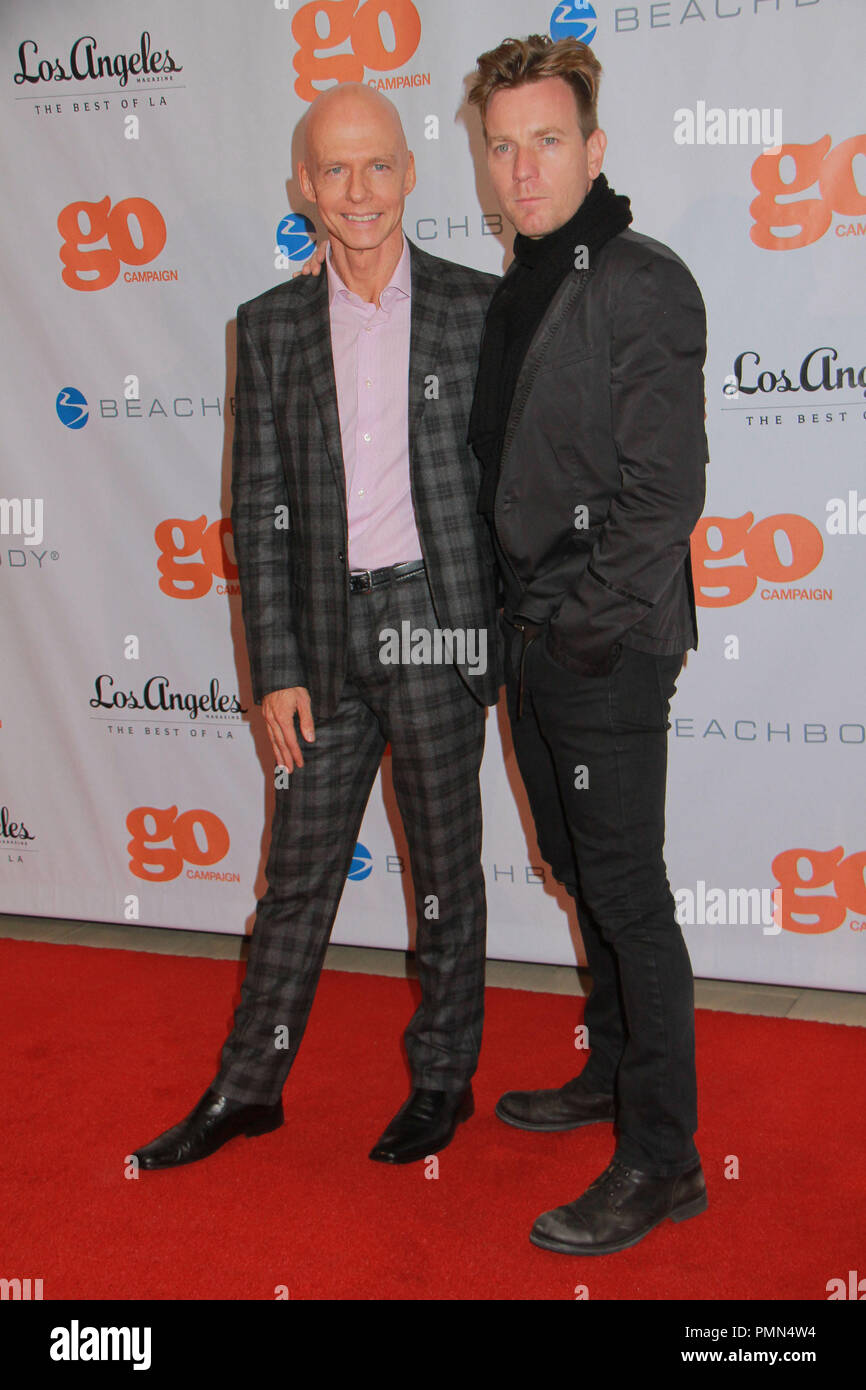 Ewan McGregor, Scott Fiver 11/10/2011 4th Annual Go Go Gala held at The London Hotel in West Hollywood, CA Photo by Manae Nishiyama / HollywoodNewsWire.net/ PictureLux - Stock Image