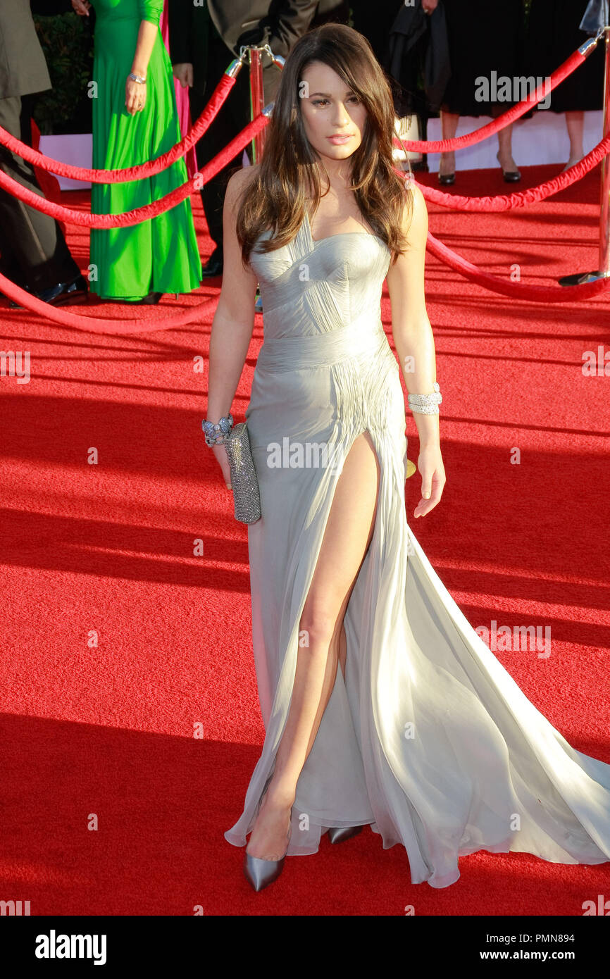 62757205f9a Lea Michele at the 18th Annual Screen Actors Guild Awards. Arrivals held at  the Shrine