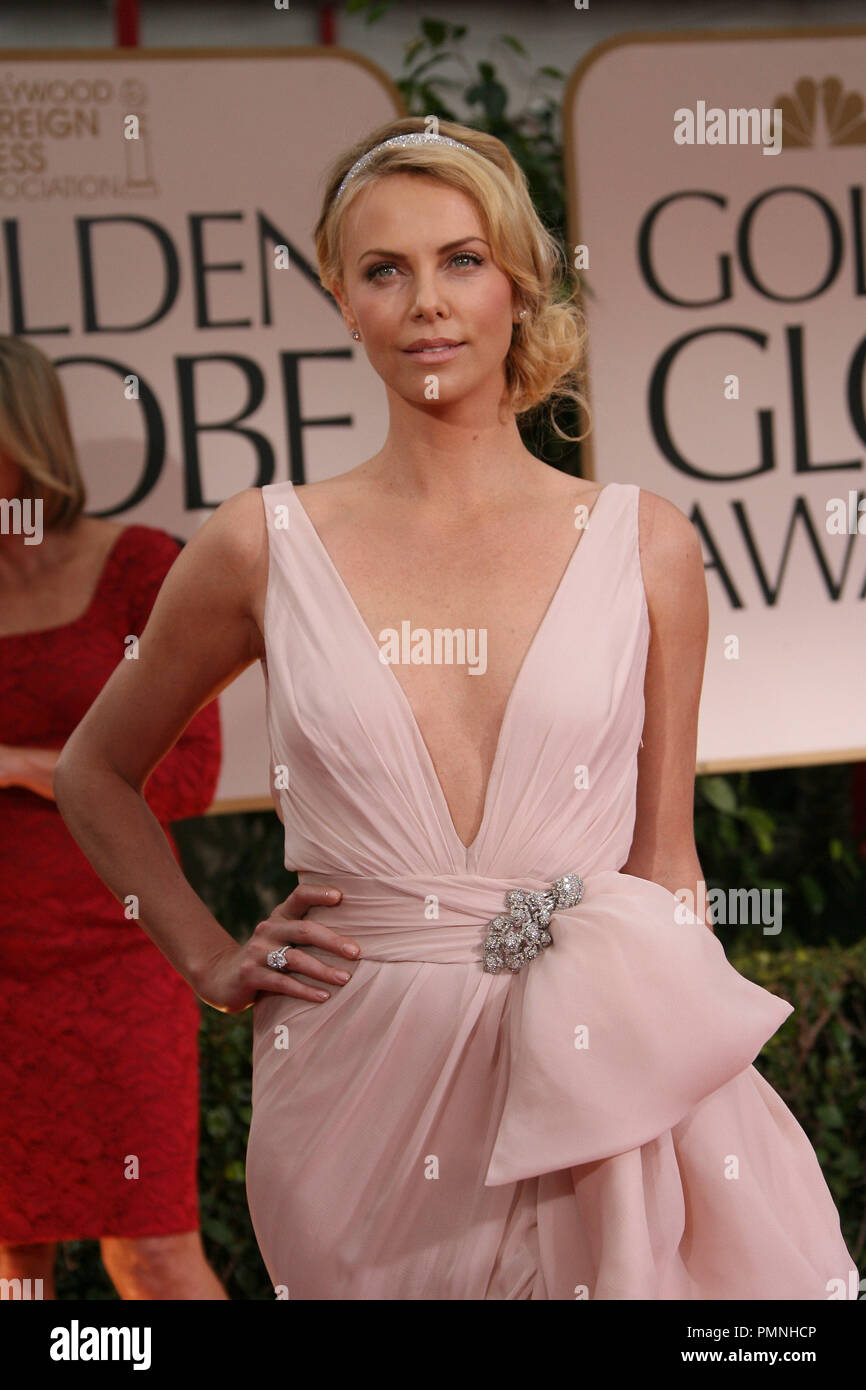 add68f18b8f39 Charlize Theron at the arrivals of The 69th Annual Golden Globe Awards held  at the Beverly Hilton Hotel in Beverly Hills, CA on Sunday, January 15,  2012.