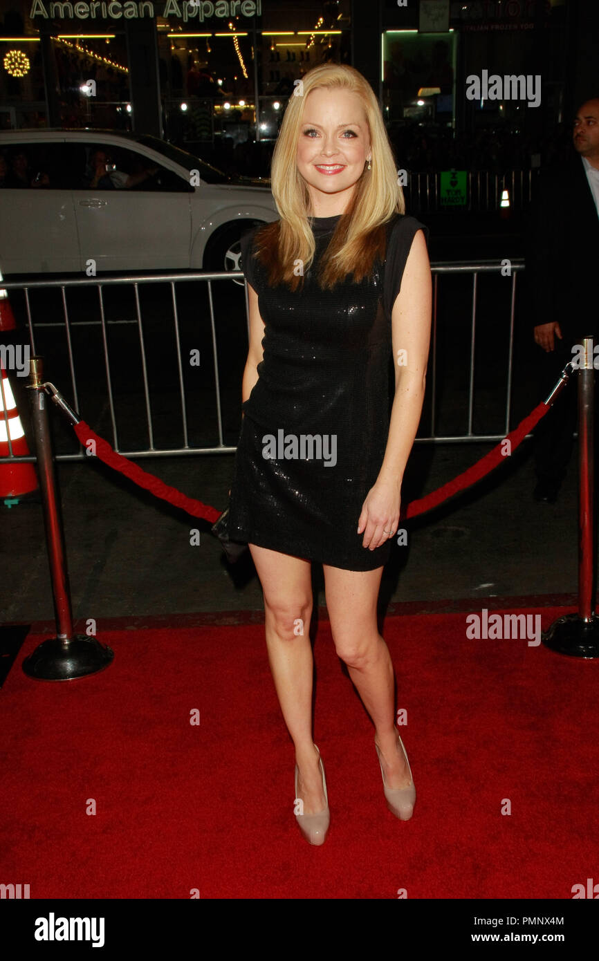 Marisa Coughlan at the Premiere of 20th Century Fox's 'This Means War'. Arrivals held at Grauman's Chinese Theater in Hollywood, CA, February 8, 2012. Photo by Joe Martinez / PictureLux - Stock Image