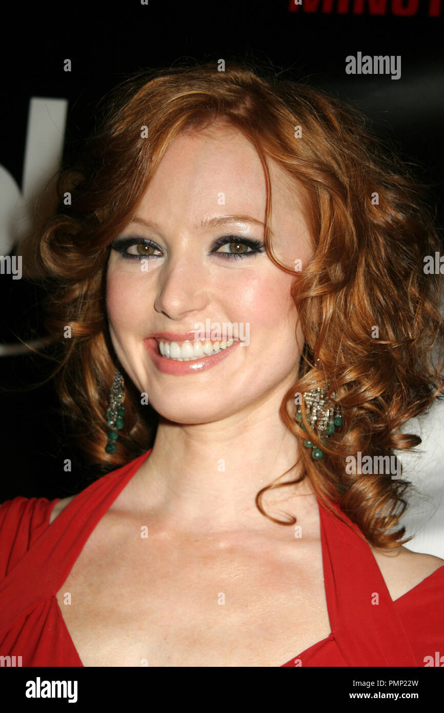 04/16/2008 Alicia Witt '88 Minutes' Premiere @ Planet Hollywood Resort & Casino, Las Vegas  Photo by Ima Kuroda / HNW / Picturelux File Reference # 31463_008HNW  For Editorial Use Only -  All Rights Reserved - Stock Image