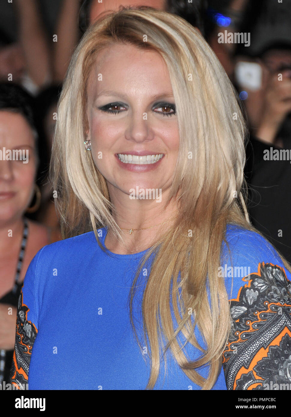 Britney Spears at 'The X Factor' Season 2 Premiere Party held at the Grauman's Chinese Theatre in Hollywood, CA. The event took place on Tuesday,  September 11, 2012. Photo by PRPP_PRPP  File Reference # 31644_006PRPP  For Editorial Use Only -  All Rights Reserved - Stock Image