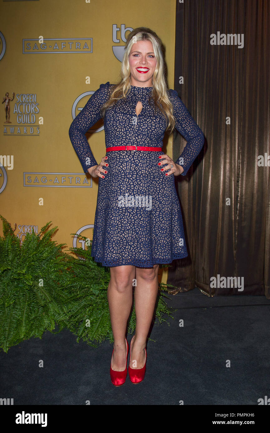 Busy Philipps attends the 19th Annual Screen Actors Guild Award Nominations at the Pacific Design Center on December 12, 2012 in West Hollywood, California. (Photo by Eden Ari / PRPP / PictureLux)  File Reference # 31759_005PRPP  For Editorial Use Only -  All Rights Reserved - Stock Image