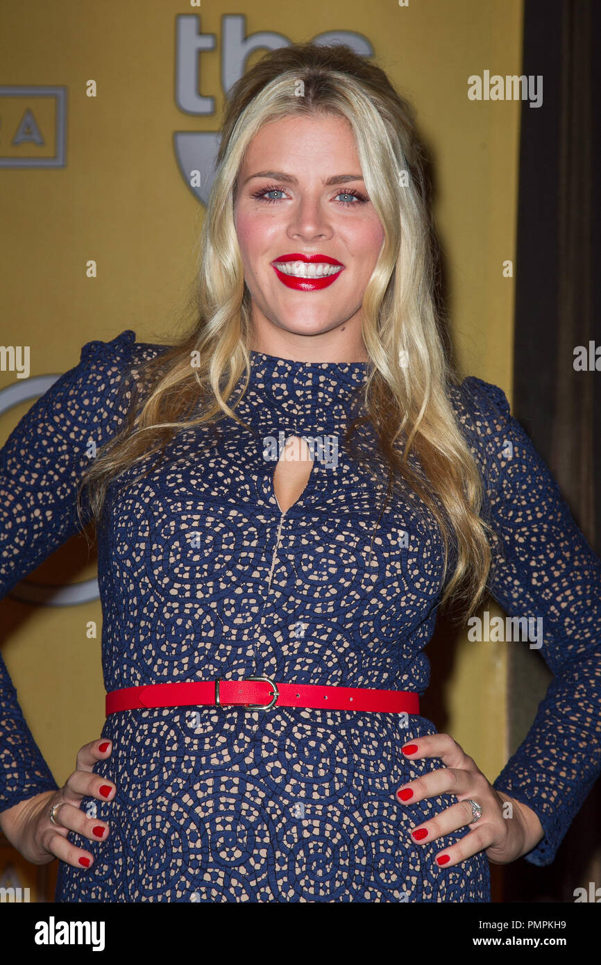 Busy Philipps attends the 19th Annual Screen Actors Guild Award Nominations at the Pacific Design Center on December 12, 2012 in West Hollywood, California. (Photo by Eden Ari / PRPP / PictureLux)  File Reference # 31759_007PRPP  For Editorial Use Only -  All Rights Reserved - Stock Image