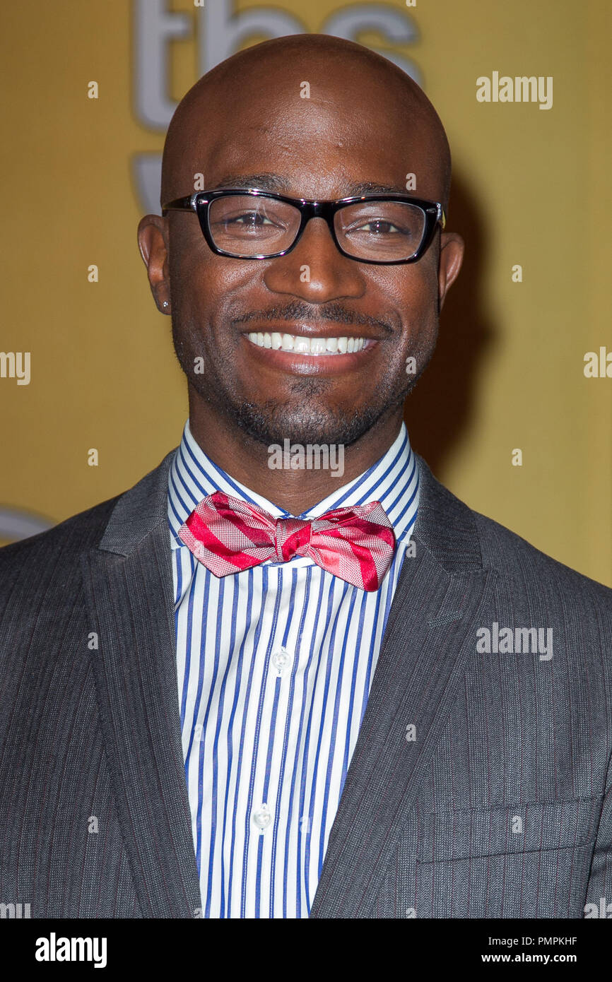Taye Diggs attends the 19th Annual Screen Actors Guild Award Nominations at the Pacific Design Center on December 12, 2012 in West Hollywood, California. (Photo by Eden Ari / PRPP / PictureLux)  File Reference # 31759_012PRPP  For Editorial Use Only -  All Rights Reserved - Stock Image