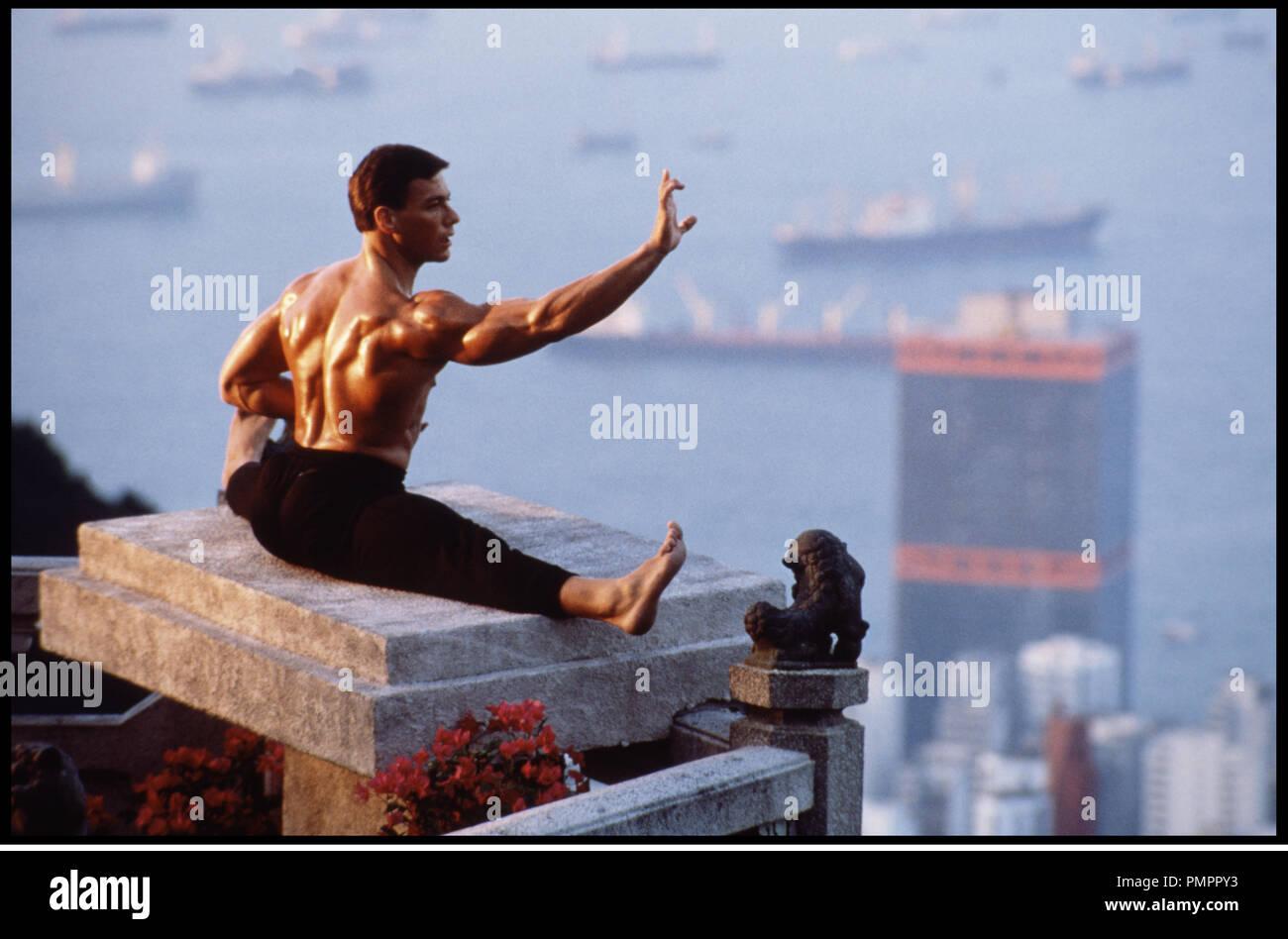 Prod DB © Cannon Films / DR BLOODSPORT, TOUS LES COUPS SONT PERMIS (BLOODSPORT) de Newt Arnold 1988 USA avec Jean-Claude Van Damme arts martiaux, concentration - Stock Image