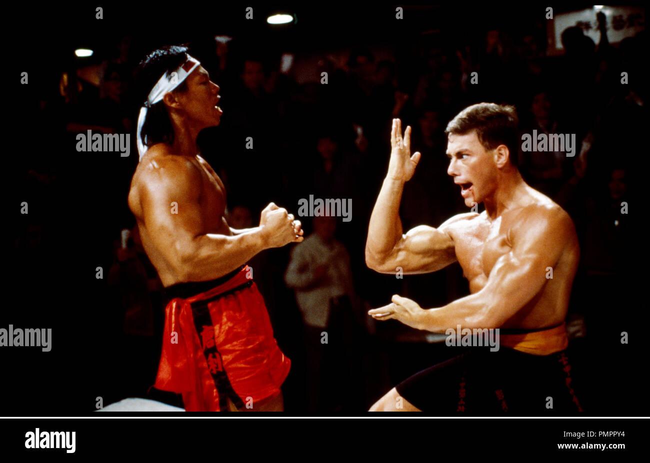 Prod DB © Cannon Films / DR BLOODSPORT, TOUS LES COUPS SONT PERMIS (BLOODSPORT) de Newt Arnold 1988 USA avec Jean-Claude Van Damme arts martiaux, combat, - Stock Image