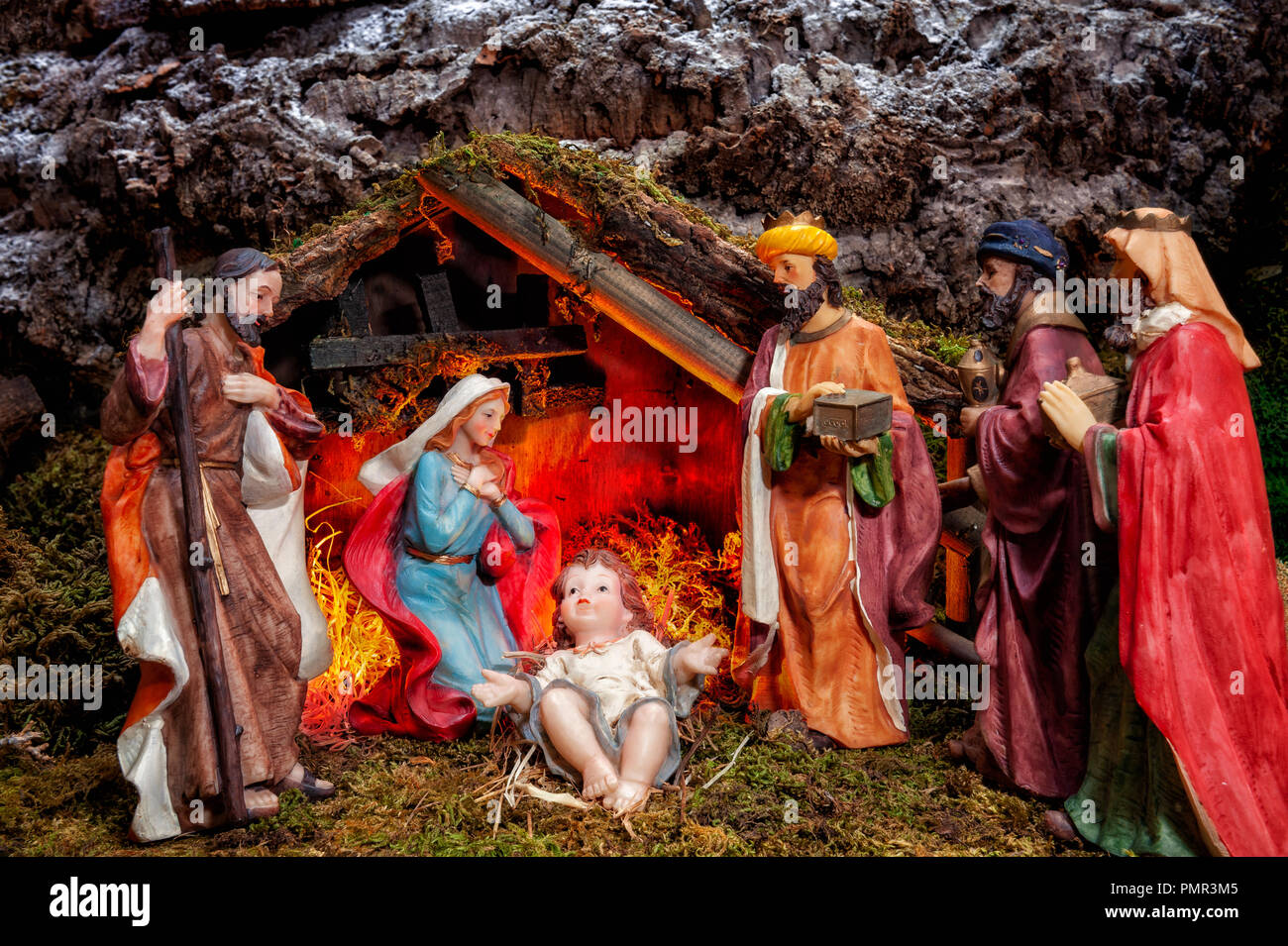Christmas Jesus High Resolution Stock Photography And Images Alamy