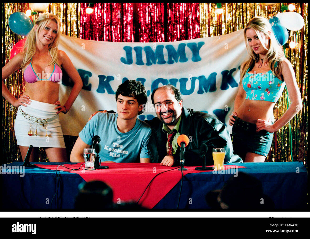 Prod DB © Working Title / DR THE CALCIUM KID (THE CALCIUM KID) de Alex De Rakoff 2004 GB avec Josephine Teale, Orlando Bloom, Omid Djalili et Maddy Ford - Stock Image