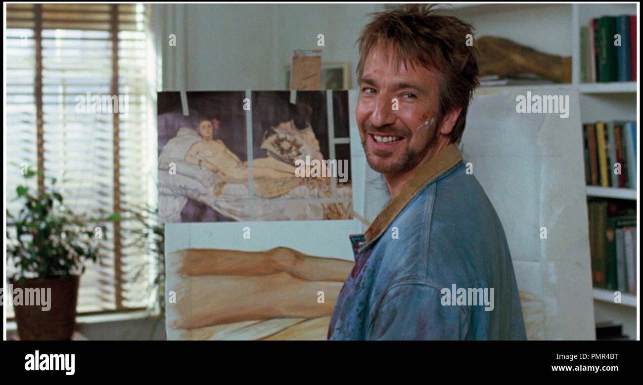 Prod DB © MGM / DR CALENDRIER MEURTRIER (THE JANUARY MAN) de Pat O'Connor 1989 USA avec Alan Rickman artiste peintre - Stock Image
