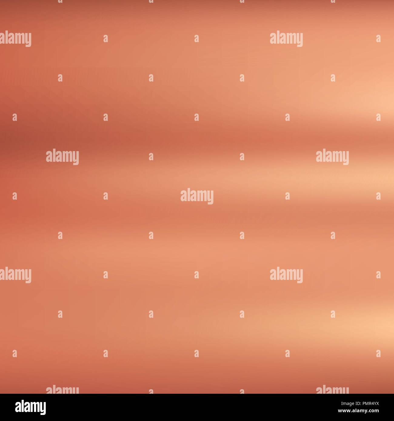 Bronze metallic background texture with polished. Vector illustration. - Stock Vector