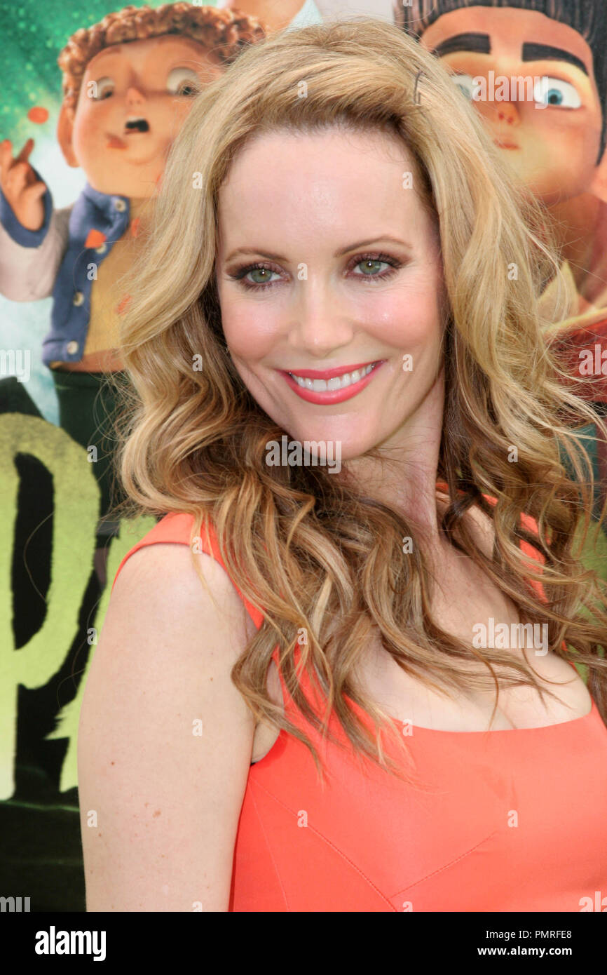 Leslie Mann at the premiere of Focus Features 'ParaNorman'. Arrivals held at the Universal CityWalk Cinemas in Universal City, CA, August 5, 2012. Photo by: R.Anthony / PictureLux - Stock Image