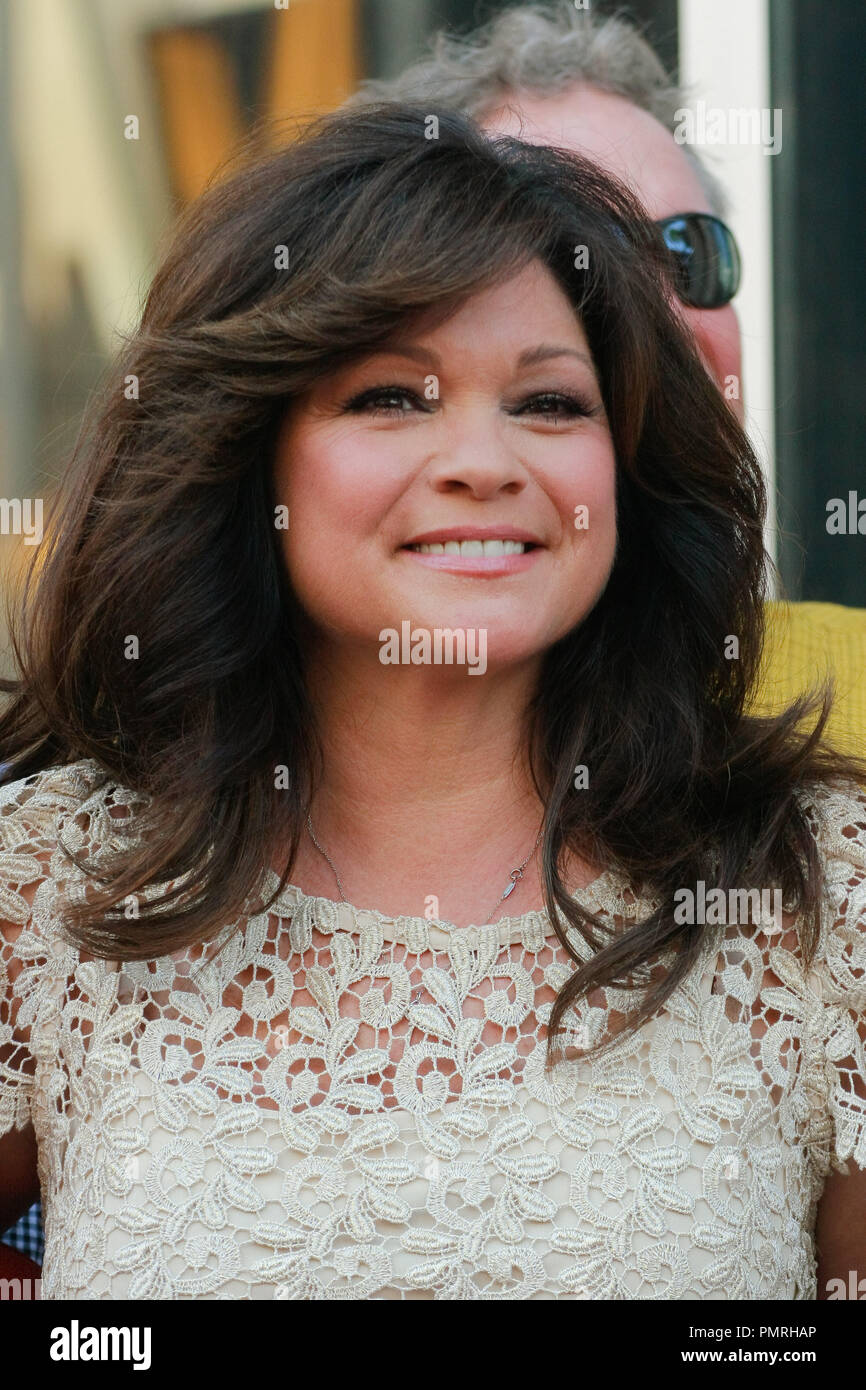 valerie bertinelli at the hollywood chamber of commerce