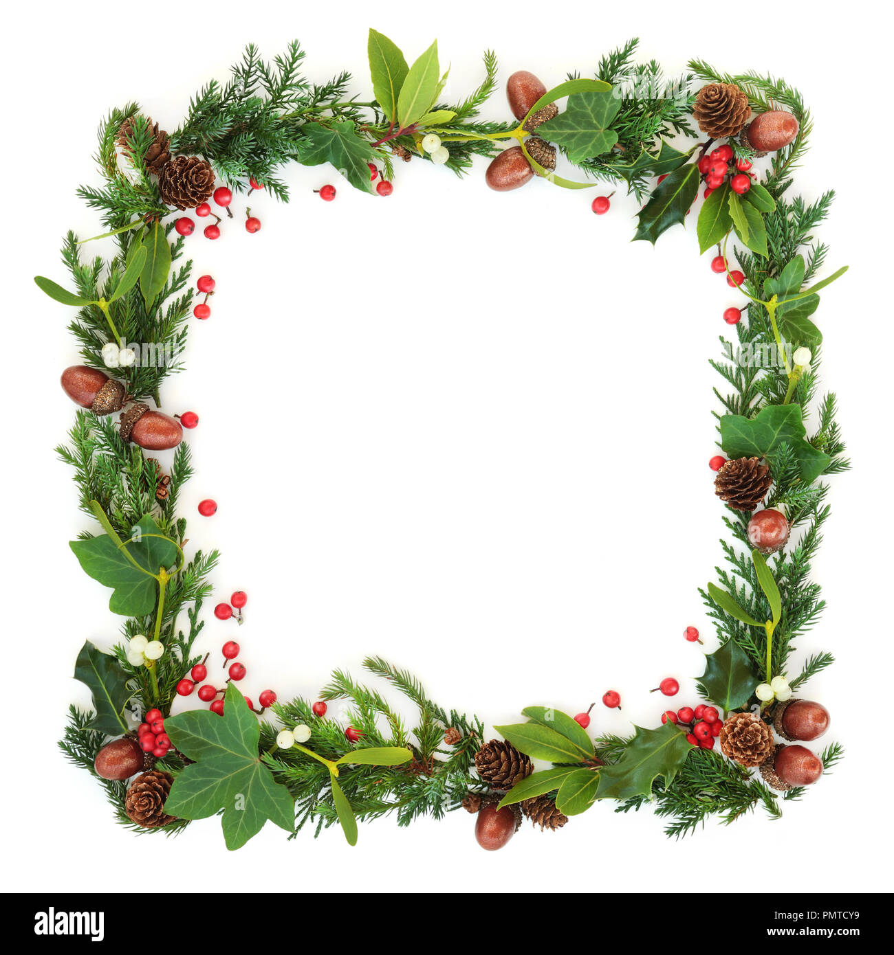 Wreath Border High Resolution Stock Photography And Images Alamy