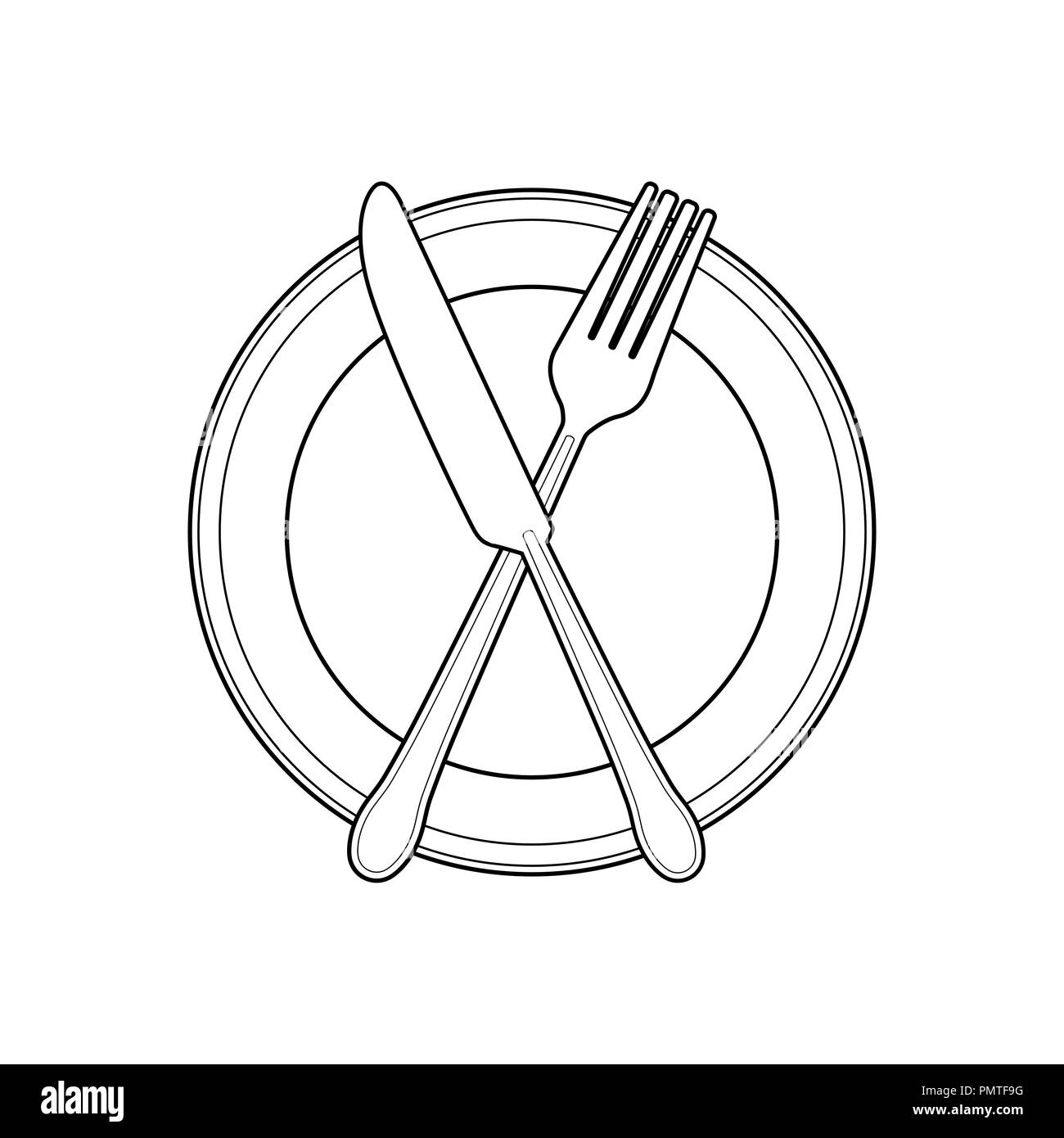 empty eatwell plate