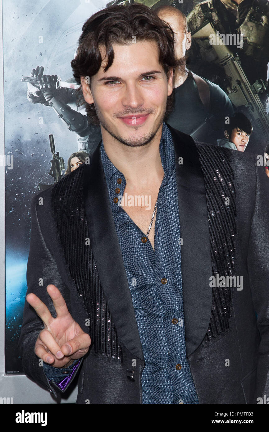 Gleb Savchenko attend the premiere of Paramount Pictures' 'G.I. Joe:Retaliation' at TCL Chinese Theatre on March 28, 2013 in Hollywood, California. Photo by Eden Ari / PRPP / PictureLux  File Reference # 31904_131PRPPEA  For Editorial Use Only -  All Rights Reserved - Stock Image