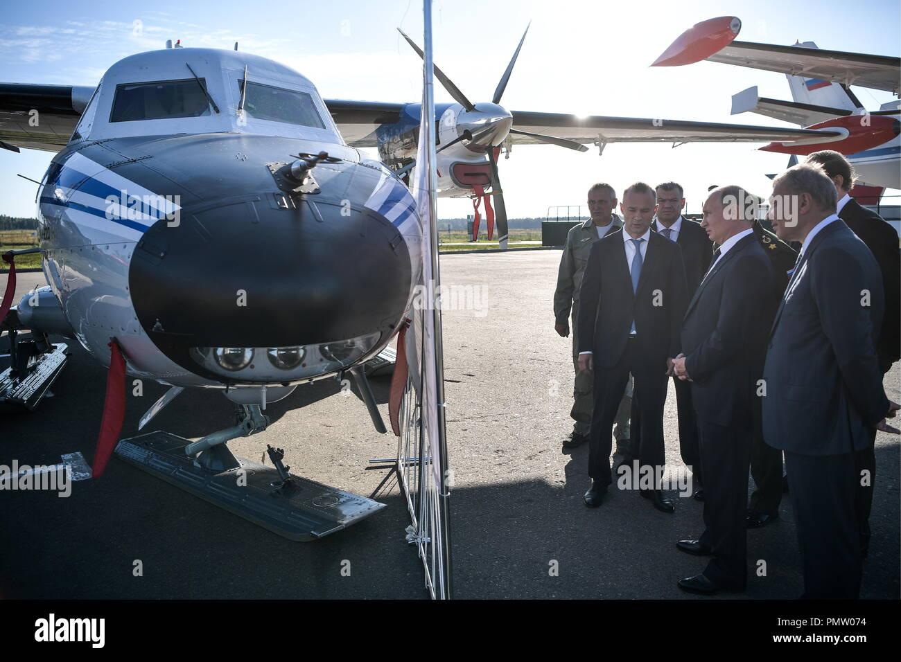 Russian Defense Minister visits Ural Civil Aviation Plant 16