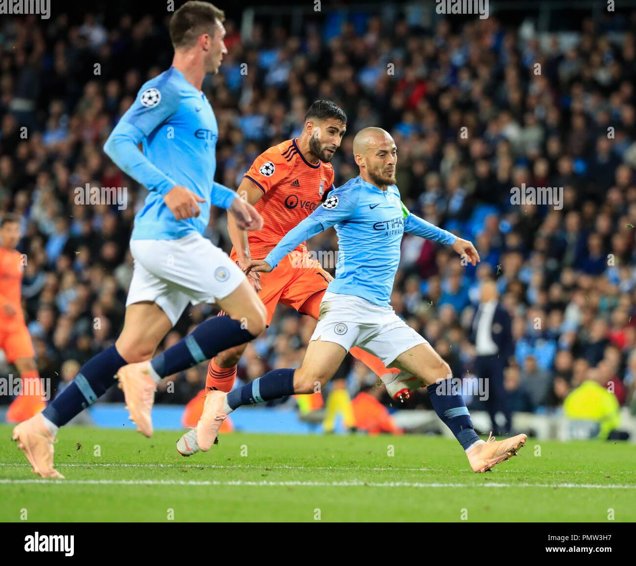 Etihad Stadium Manchester Uk 19th Sep 2018 Uefa Champions