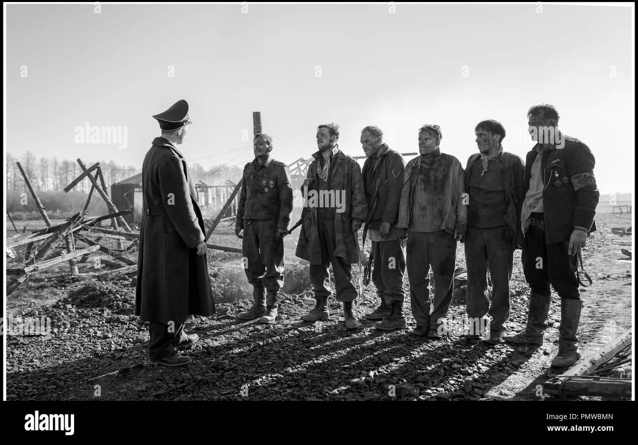 Prod DB ©Julia M. Muller - Filmgalerie 451 - Alfama Films - Opus Film - Facing East - Hands-on Producers / DR THE CAPTAIN - L'USURPATEUR (DER HAUPTMANN) de Robert Schwentke 2017 ALL./POL./PORT./FRA. ww2, nazi - Stock Image