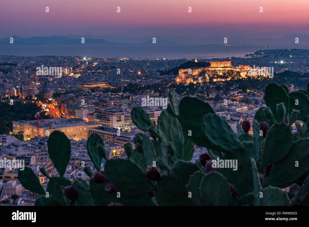 ATHENS ACROPOLIS - Stock Image