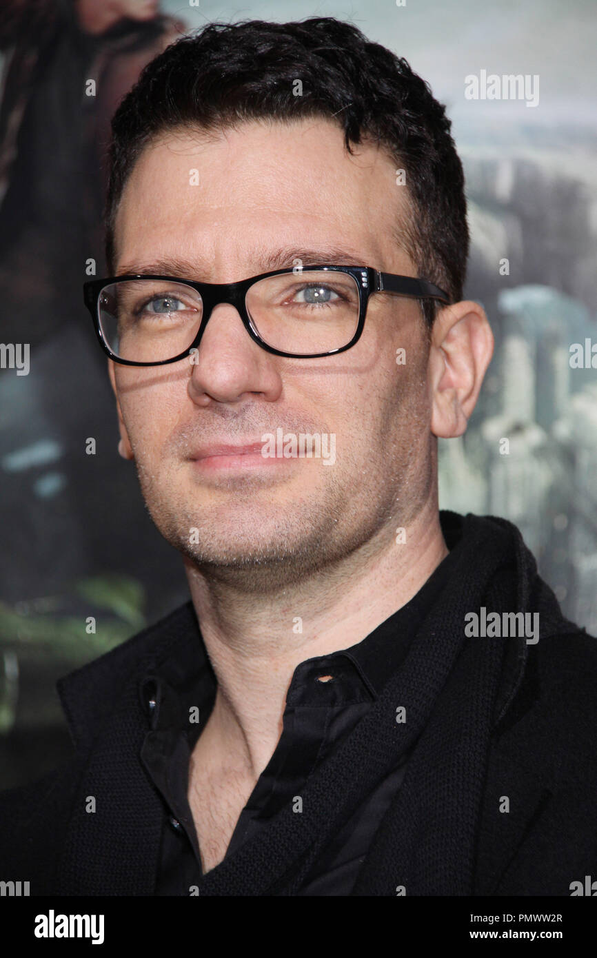 J.C. Chasez 02/26/2013 'Jack The Giant Slayer' premiere held at TCL Chinese Theatre in Hollywood, CA Photo by Izumi Hasegawa / HNW / PictureLux - Stock Image