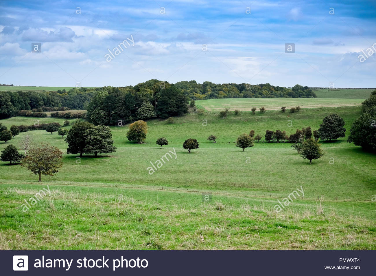 Lincolnshire Wolds, England, UK. - Stock Image
