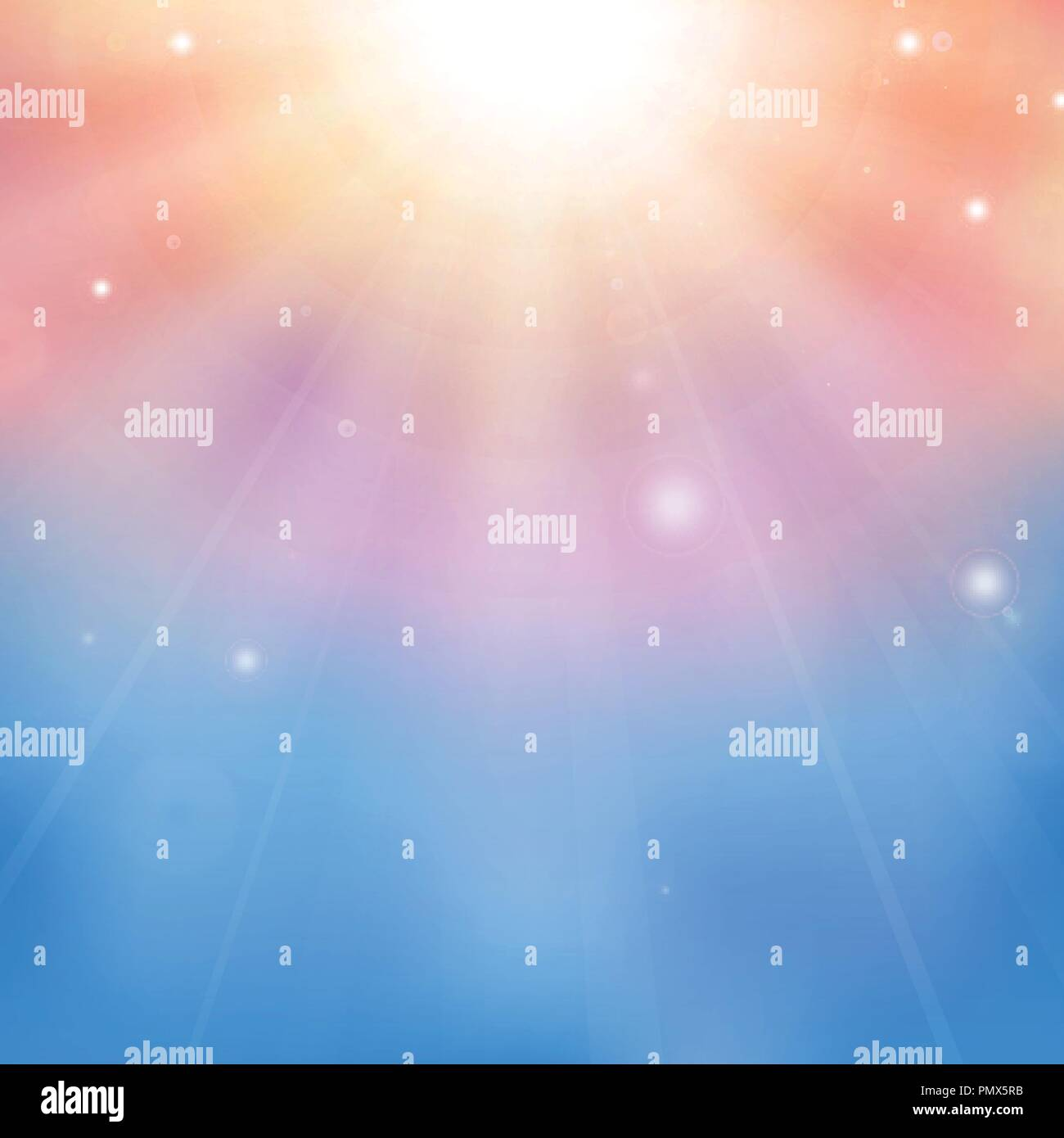 Vector color cloudy on the sky background, eps10 - Stock Vector