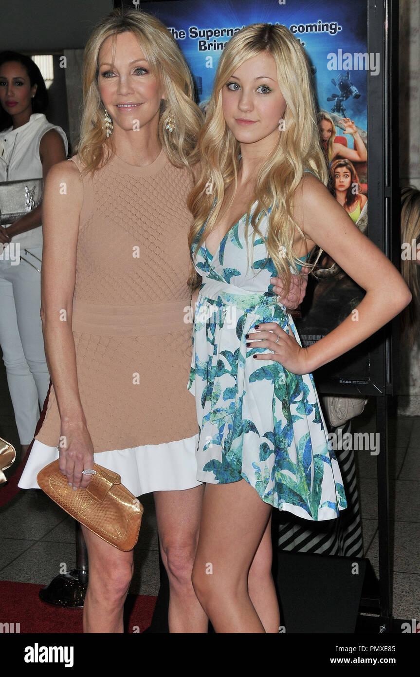 Ava Sambora And Heather Locklear Stock Photos Ava Sambora And