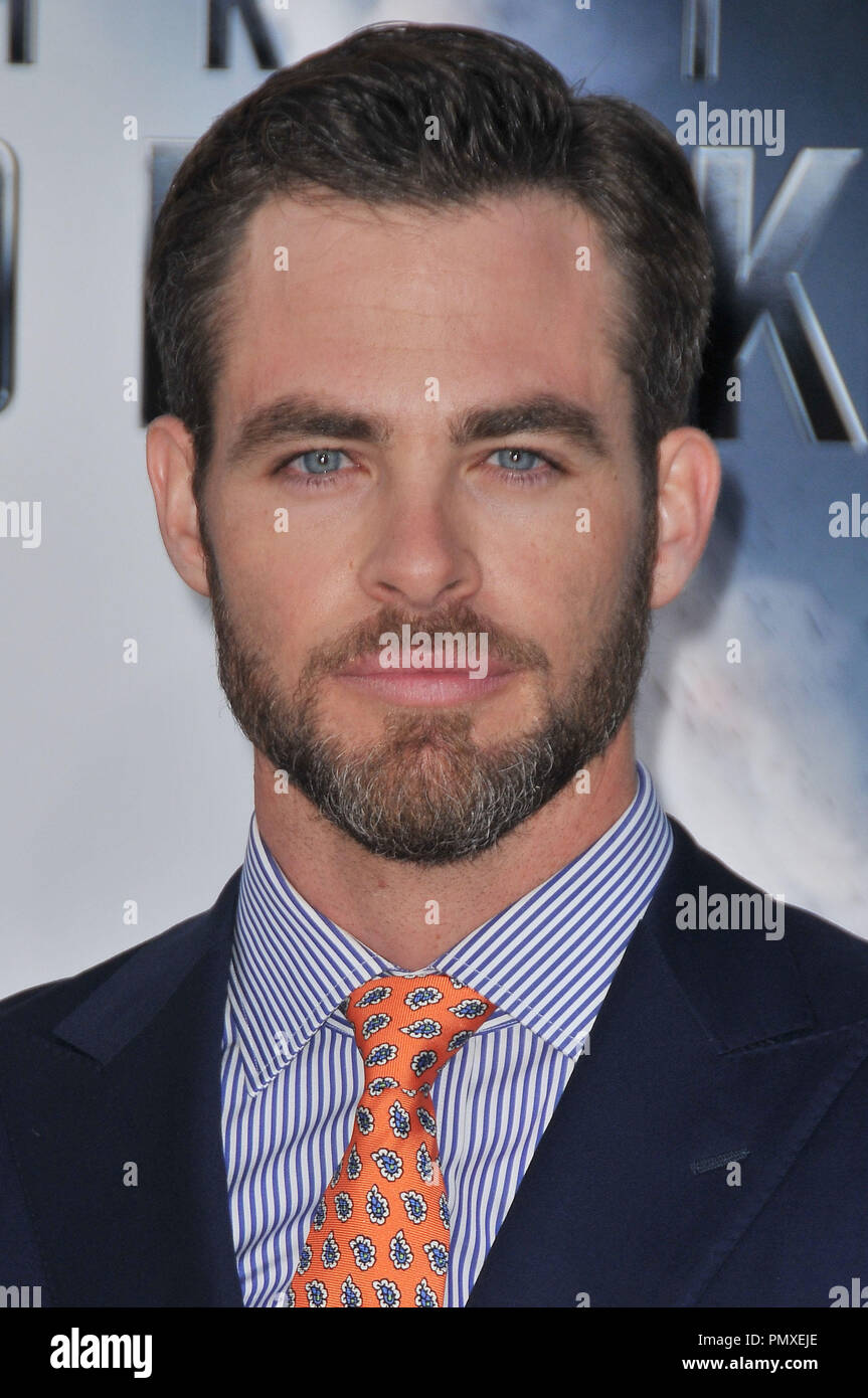 """Chris Pine at the Los Angeles Premiere of """"Star Trek Into Darkness"""" held at the Dolby Theatre in Hollywood, CA. The event took place on Tuesday, May 14, 2013.  Photo by PRPP PRPP / PictureLux  File Reference # 31920 014PRPP01  For Editorial Use Only -  All Rights Reserved Stock Photo"""