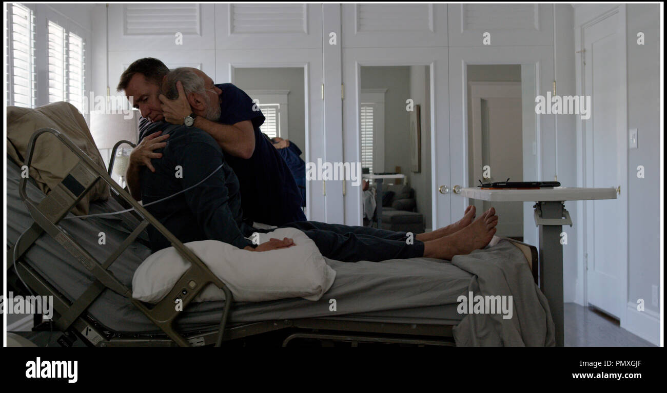 Prod DB © Stromboli Films - Vamonos Films / DR CHRONIC (CRONIC) de Michel Franco 2015 USA avec Michael Cristofer et Tim Roth infirmier, malade, handicape - Stock Image